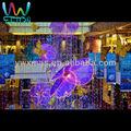 Centre commercial atrium papillon, décoration suspendus décoration