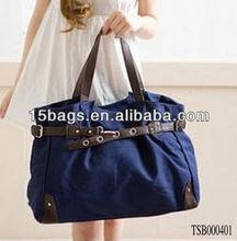 Hot Selling Yiwu Supplier Wholesale Cheap Woman Fashion Canvas Bag