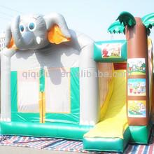 Elephant Cartoons Inflatable Bouncers Sale Custom Inflatable Castle