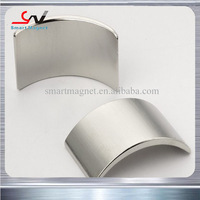 For DC motors High coercive force cheap strong neodymium arc magnets