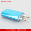 Colorful EU Charger for iPhone 5 4 4S iPod,Eu Charger For Iphone 5