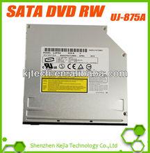 100% New UJ 875A laptop DVD Burner Slot-in dvd writer 12.7mm