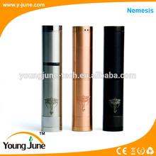 Newest E-cig Mechanical Mod Stainless Steel Nemesis,Nemsis Mod,Nemesis Clone