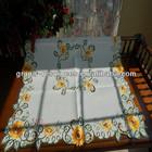 Sunflower design table cloth
