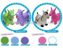 High quality horse skippy jumping toy/skippy animal