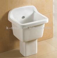 Ceramic Mop pool bathroom sinks 2 pcs