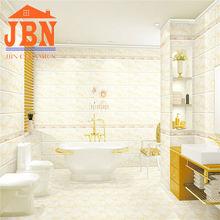marble design nano finish wall tile installation