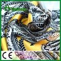 mulinsen têxteis de poliéster impressos cetim de seda tecido com elastano