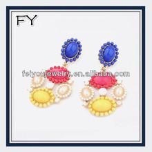 Factory price 2014 jewelry lucky beads jewelry earrings beaded jewelry