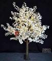 led bordo branco natal decoração da árvore