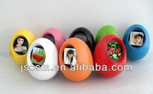 Christmas decoration gifts ,1.5inch egg digital keychain , xmas ornaments, photo frame