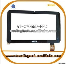 7inch genesis tablet pc touch screen AT-C7055D for Genesis GT7301 tablet atc7055D