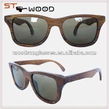 top quality custom sunglasses wood and bamboo
