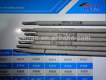 specification of welding electrode E7018 low hydrogen welding electrode 7018