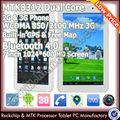 Tableta baratos con linterna 7'' mtk8312 de doble núcleo 4.2 androide tablet pc