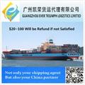 barato do mar transporte de contêineres da china para zeebrugge da bélgica