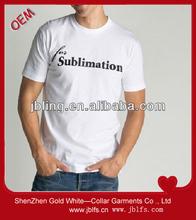 men's sublimation O-neck t-shirts