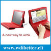 Wireless Keyboard with Leather Case Stand Cover for iPad 1 2nd 3rd Generation