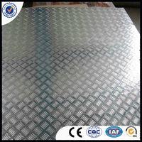 Aluminium tread sheet ribbed plate