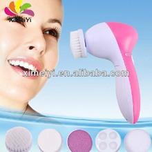 5 in 1 portable electric facial washing brush