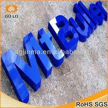 custom design embellishment metal alphabet,plastic letter opener,wall letter