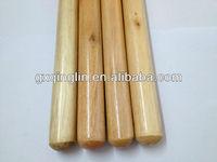brooms stick and dustpan set,threaded broom pole,20mm diameter wooden broom stick