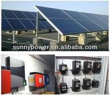 on-grid solar home system 3kw,5kw,7kw,8kw,10kw,50kw