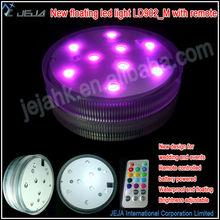 Factory wholesale submersible led light,warm color wedding decoration