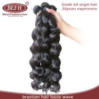 "Hot sale 20""22""24"" inch /lot loose wave 100% unprocessed virgin brazilian human hair"