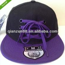 2014 Fashion Hip Hop Baseball Caps Custom Flat Brim Lace Baseall Hat