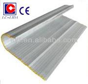 CE certification aluminium protecting curtain for cnc machine
