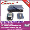 alarms system 12v car alarm siren point car alarm systems/B92
