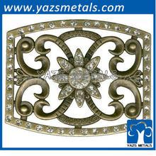 custom metal die casting belt buckle