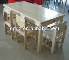 Children Furniture/Kids Desk and Chair,Solid Wood Kids Tables and Chairs
