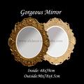 Empire-stil handgeschnitzt dekorativ spiegel mit Urne und blattmotiv badezimmerspiegel