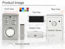 Wireless Home Security Vibration Magnet Door Alarm