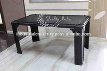 Metal Square Simple Design Center Table