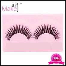 2014 best selling korean eyelash extension, free eyelashes samples,human hair, false eyelashes red cherry