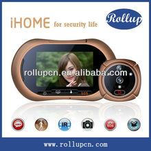 Motion sensor door control,wifi doorbell camera,300kp door viewer