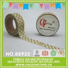 Fashional custom make washi tape nail art