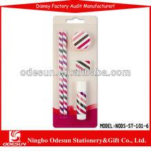 Disney factory audit manufacturer's memo pad pen stationery set 1490114