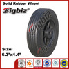Replacement plastic toy wheels, small solid rubber wheel chocks