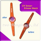 UV sensor tesing bracelet Watch