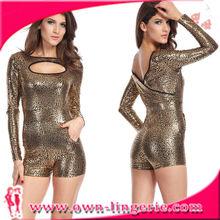 Women Faux Leather Zentai Exotic Cheap Zentai Suits