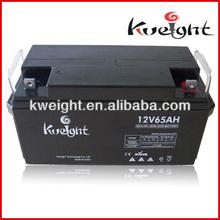 Lead Acid Battery in 12V KW12-65AH Storage Battery, 65AH Volta Battery for Emergency Light