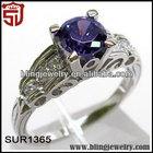 Fashion Amethyst Jewelry for Ebay Smart Ring Jewelry