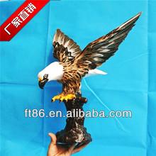 European wholesale fashion lifelike decorative artificial eagle birds