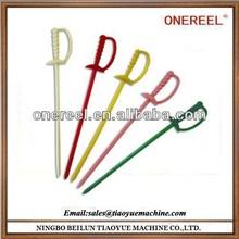 Useful and no-harm plastic toothpicks