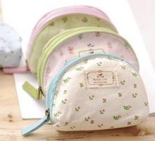 WJ127 Korean fresh and lovely coin bag, zipper key cases, admission package