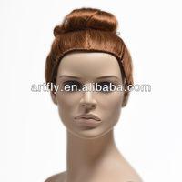 Cheap human hair mannequin head
